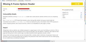 X-Frame-Options HTTP Header